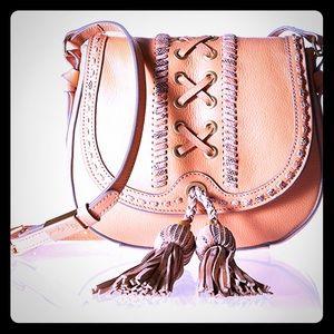 Foley + Corinna Sarabi Saddle Bag Candied Peach